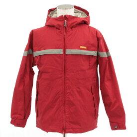 【中古】◆ARBN エアボーン スノーボードジャケット Mサイズ◆ red /赤/レッド/AIRBORN/スキー/スポーツアウトドア/ウェア/レディース/アウター