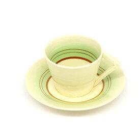 【中古】◆クラリス・クリフ CLARICE CLIFF カップ&ソーサー ウィルキンソン.LTD◆ 洋食器 コーヒー 紅茶