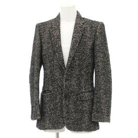 【中古】◆ARTISAN アルチザン 2Bジャケット サイズM◆ black /黒/ブラック/日本製/センターベント/厚手/メンズ/アウター