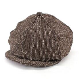 【中古】」◆SUGAR CANE シュガーケーン キャスケット サイズ 7(1/4)◆ brown /茶/ブラウン/ウール/コットン/メンズ/帽子/服飾小物