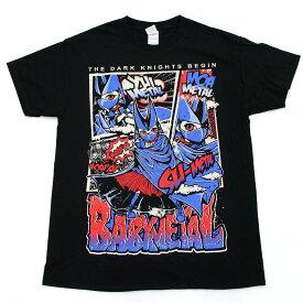 ◆The dark night kinght begin World tour 2015 幕張メッセ TEE Tシャツ BABYMETAL ベビーメタル Mサイズ◆黒/ブラック【中古】