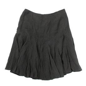 ◆L'EQUIPE レキップヨシエイナバ ペプラムスカート 大きいサイズ17号◆ black /黒/ブラック/レディース/ボトムス【中古】