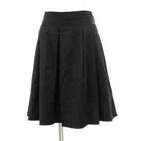 良好◆Burberry バーバリーブルーレーベル スカート サイズ36◆ black /黒/ブラック/ボックスプリーツ/レディース/ボトムス【中古】