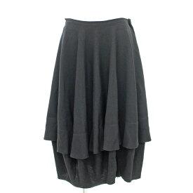 ◆COMME des GARCONS コムデギャルソン 変形スカート サイズM◆ black /黒/ブラック/AD2004/膝丈/レディース/ボトムス【中古】