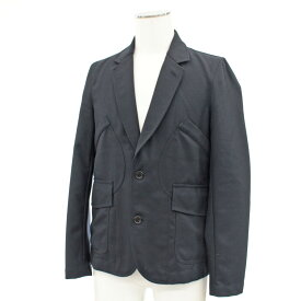 良好◆COMME des GARCONS コムデギャルソンシャツ デザイン ジャケット サイズXS◆ navy /紺/ネイビー/ポリウール/メンズ/アウター【中古】