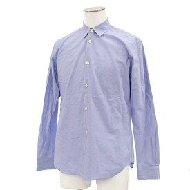 ◆COMME des GARCONS コムデギャルソンシャツ ストライプ柄 長袖シャツ サイズXS◆ blue /青/ブルー/コットン100%/メンズ/トップス【中古】