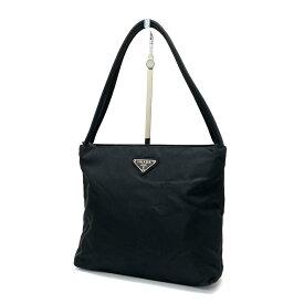 良好◆PRADA プラダ B6243 ナイロン ハンドバッグ◆black /黒/ブラック/レディース/メンズ/鞄/軽量/イタリア製/KI1004【中古】