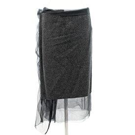 ◆tricot COMME des GARCONS トリココムデギャルソン ウールスカート サイズM◆ gray /グレー/AD2012/レディース/ボトムス【中古】