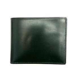 ◆COCOMEISTER ココマイスター レザー2つ折り財布◆green /緑/グリーン/メンズ/服飾小物/ウォレット/KI1004【中古】