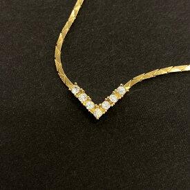 良好◆Christian Dior クリスチャンディオール ヴィンテージ ネックレス◆gold/ゴールドカラー/レディース/アクセサリー/服飾小物/KI1004【中古】