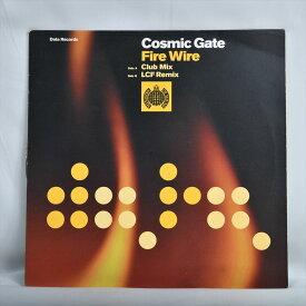 【中古品】レコード Cosmic Gate Fire Wire (コズミック ゲート ファイヤーワイル)LP