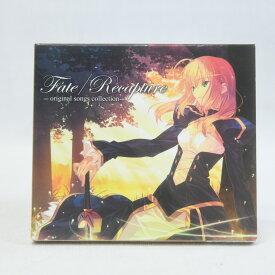 【中古】Fate Recapture - original songs collection CD 初回生産版 サントラ