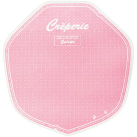 クレープ包装紙 デリシャス 変形 ピンク (200枚入) アオトプラス