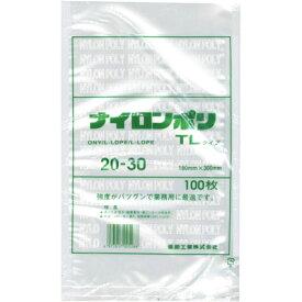 【送料無料】 ナイロンポリ TLタイプ 20-30 0.07mm×200×300(mm) 1600枚入   福助工業 真空袋 ナイロンポリ 真空包装 袋 【メーカー直送/代引き不可】