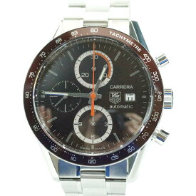【中古】腕時計 タグホイヤー カレラ 16 CV2013 クロノグラフ メンズ 自動巻き
