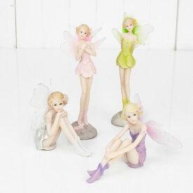 妖精 置物 インテリア フェアリー おしゃれ オブジェ かわいい 姫系 雑貨 ギフト