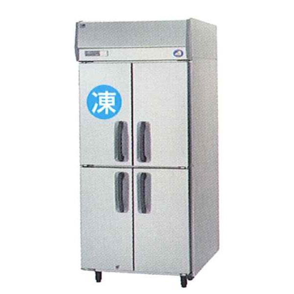 Panasonic (old Sanyo) Four Door Commercial Freezer Refrigerator Vertical  SRR K961CS (old :SSR J961CVSA) 1 Room Refrigeration Type Width 900 X Depth  650 X ...