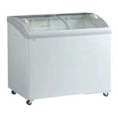 新品:パナソニック  冷凍ショーケース ( アイスクリームショーケース )SCR-PT101GJ 206リットル 曲面ガラスタイプ幅1000×奥行650×高さ890(mm)【 ショーケース 】【 冷凍庫 】