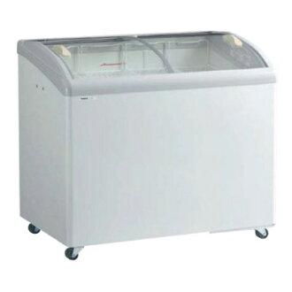 Panasonic (old Sanyo) refrigeration showcase (ice cream show case) SCR-T100GJ 206 l curved glass width 1000 x d 650 x height 890 (mm)