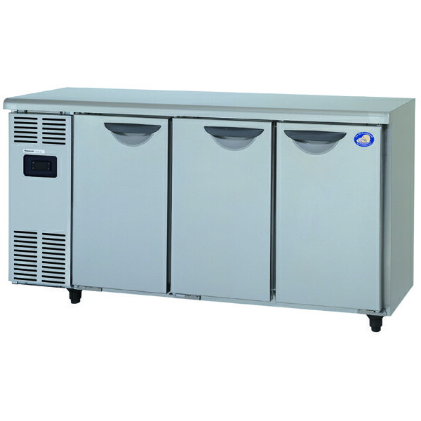 新品:パナソニック  テーブル型冷蔵庫 ( コールドテーブル ) SUC-N1541J 237リットル幅1500×奥行450×高さ800(mm)【 台下冷蔵庫 】【 業務用厨房機器 】