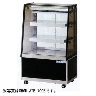 哦股份 (OHO) 冷藏陈列柜 119 l 宽 900 x 深度 500 × 高度 (1150 毫米) OHGU-ATBa-900B (后整理的滑动门和门框的头线) (old-:OHGU-ATB-900B)