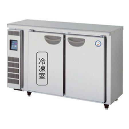 新品 福島工業(フクシマ)業務用横型冷凍冷蔵庫 超薄型 コールドテーブル幅1200×奥行450×高さ800(mm)TMU-41PE2