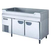 福島工業(フクシマ)横型舟形シンク付きコールドテーブル冷蔵庫幅1200×奥行600×高さ800(mm)TNC-40RM3-SC(旧型番:TNC-40RM-SC)