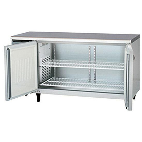 新品 福島工業(フクシマ)業務用横型冷蔵庫 コールドテーブル センターフリータイプ 431リットル幅1500×奥行750×高さ800(mm)YRW-150RM2-F