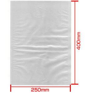 新品:バー型真空包装機用袋 250×400RVP-2540