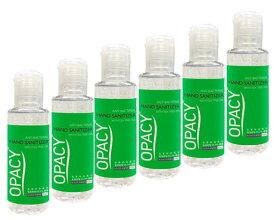 オパシーアンチバクテリアルハンドジェル50ml ×6本 【代引不可能商品】[ヤマト便] OPACY Anti Bacterial Hand Sanitizer
