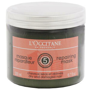 ロクシタン ファイブハーブス リペアリング ヘアマスク 200ml L'OCCITANE LOCCITANE 5 ESSENTIAL OILS REPAIRING MASK DRY AND DAMAGED HAIR