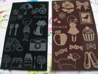 nicotto flocking sheet animal girl NICOT transcription