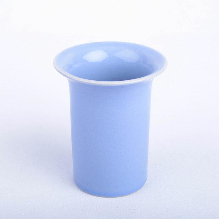ホガナス/hoganas フラワーベース 花瓶 ライトブルー【Antique/アンティーク】【Vintage/ヴィンテージ】【北欧】【海外直輸入USED品】