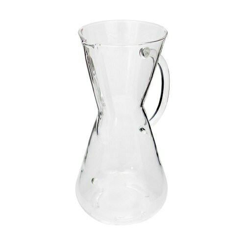 【在庫限りで取扱終了。30%OFF!! 6980円⇒4886円】ケメックス コーヒーメーカー 3カップ CM-1GHハンドル付き/CHEMEX Filter-Drip Coffeemaker