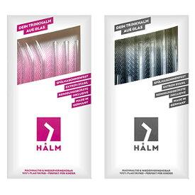 ハルム ガラスストロー 6本セット (ストロー 食器 ドイツ HALM 食洗器OK ガラス おしゃれ キッチン レストラン カクテル ホームパーティー エコ 開店祝 ギフト)