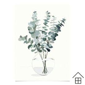 コートカルテレット ポスター ユーカリA3【正規代理店品】【ポスター】【Kortkartellet】【北欧】【インテリア】【おしゃれ】【Kortkartellet】【A3】【かわいい】