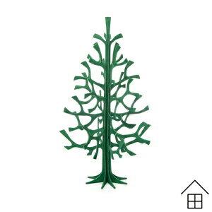 【ポイント10倍】Loviクリスマスツリー25cm 全5色【メール便可 2個まで】【ロビ】【モミの木】