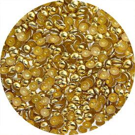 SARURU(サルルプロジェクト)スタッズラウンド小粒 1.0mm ゴールド【ネイルアート、スタッズ】【コスメ&ドラッグNY】0824楽天カード分割【メール便(ネコポス)対応】