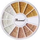 ボンネイル Bonnail ブリオン 3color set【メール便(ネコポス)対応】【ブリオン/ジェルネイルパーツ】 【c&dネイリス…