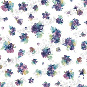ツメキラ TSUMEKIRA 【mi-miプロデュース1】Bouquet Bleu/ブーケ ブルー【メール便(ネコポス)対応】【フラワー/ネイルシール/花】 【c&dネイリスト情報 コスメ&ドラッグNY】