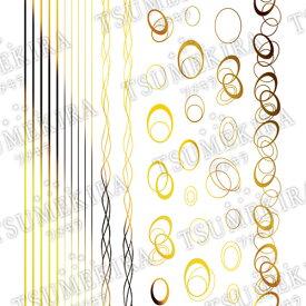 TSUMEKIRA(ツメキラ)【TOMOMIプロデュース1】Nobele Line/ノーブルライン ゴールド【メール便(ネコポス)対応】【ネイルアート、ネイルシール、ネイル パーツ】【コスメ&ドラッグNY】0824楽天カード分割