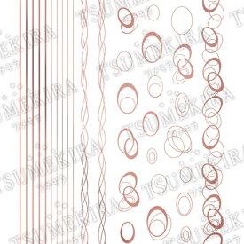 TSUMEKIRA(ツメキラ)【TOMOMIプロデュース1】Nobele Line/ノーブルライン シャンパンピンク【メール便(ネコポス)対応】【ネイルアート、ネイルシール、ネイル パーツ】【コスメ&ドラッグNY】0824楽天カード分割