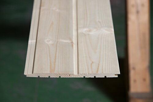 レッドパイン羽目板12ミリ 長さ3900ミリ Aグレード 目透かしV溝加工 無塗装 壁材/天井材/腰板/おすすめ/DIY/無垢材/パイン材/スウェーデンパイン/欧州赤松/フローリング/壁材/木材/無垢材/無垢/パイン/板/壁板/松/無垢羽目板