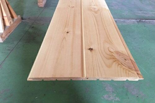 パイン 羽目板 12ミリ 長さ3900ミリ Bグレード SETRA社製 レッドパイン 目透しR溝加工 無塗装 壁材 天井材 腰板に最適 おすすめ DIY 無垢 パイン材 壁板 欧州赤松 スウェーデンパイン 無垢羽目板