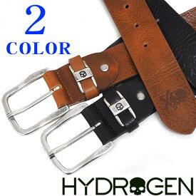ベルト メンズ ブランド【HYDROGEN】ハイドロゲン ベルト ブラック・ブラウン 1535271【送料無料】