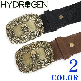 ベルト メンズ ブランド【HYDROGEN】ハイドロゲン ベルト ブラック・ブラウン 1535275【送料無料】