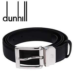 【dunhill】ダンヒル ベルト(リバーシブル)ベルト メンズ ブランド ブラック/ブラック HPC126A【送料無料】