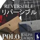 ポロ ラルフローレン リバーシブル マフラー 【POLO RALPH LAUREN】【Classic Reversible Scarf】レディース メンズ …