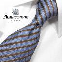 アクアスキュータム ネクタイ(8cm幅) AQA30【Aquascutum・アクアスキュータムネクタイ・ネクタイ ブランド】ロイヤ…