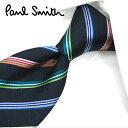 ブランドネクタイ ポールスミス ネクタイ PS74 ネイビー/マルチカラー 8cm幅 【Paul Smith・ポールスミスネクタイ…